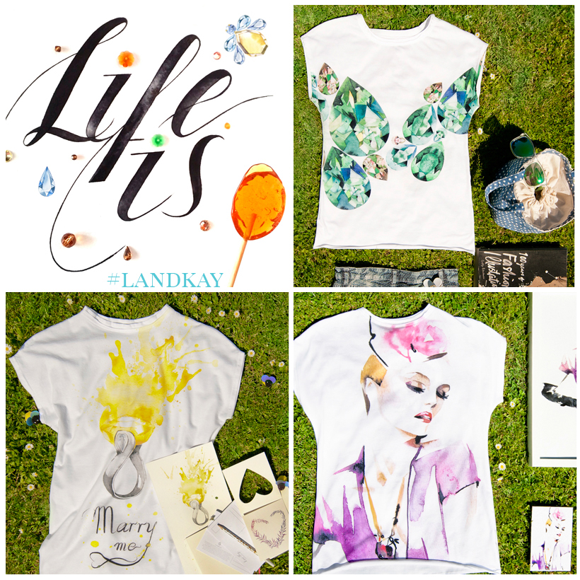 Marry me, gemstones and violet girl print t-shirts